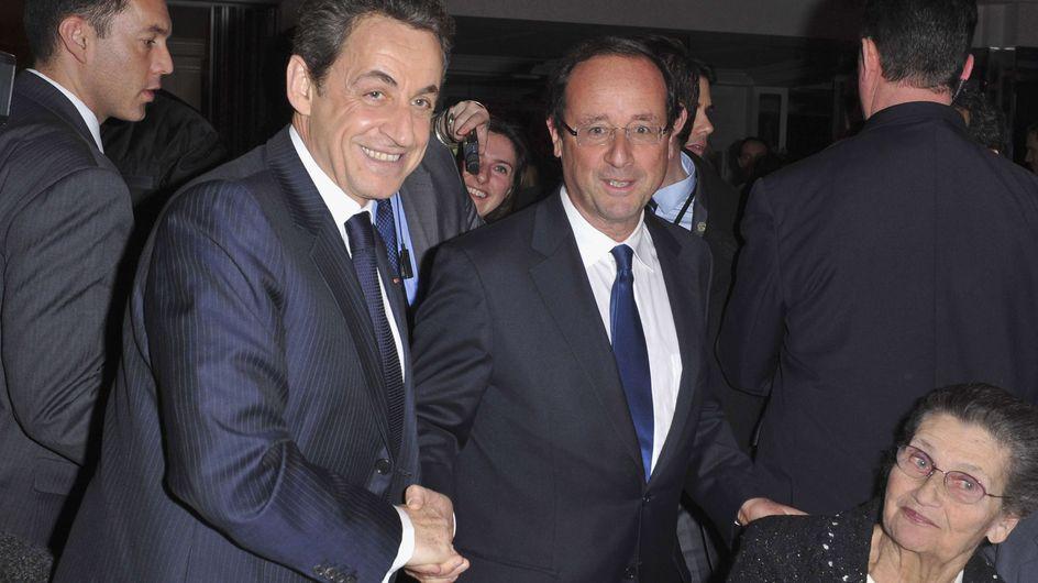 Sarkozy/ Hollande : Poignée de main cordiale au dîner du Crif