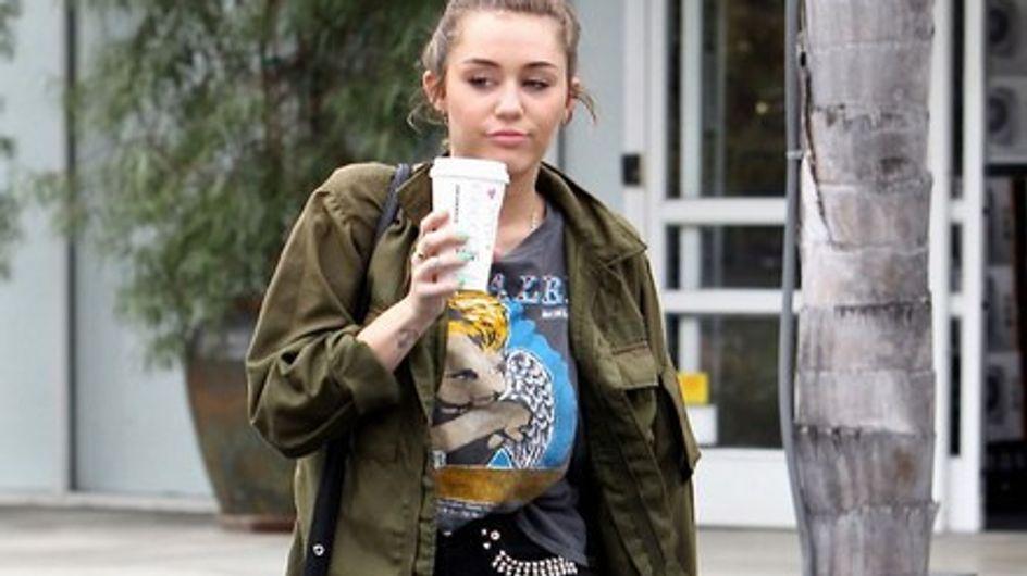 Miley Cyrus : Elle persiste dans la trash attitude...