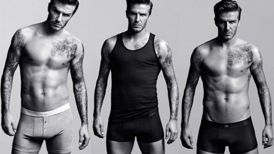 """David Beckham : """"Je n'ai pas mis de chaussettes dans mon slip"""""""