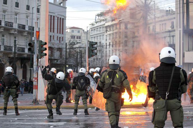 Grèce, manifestations, austérité