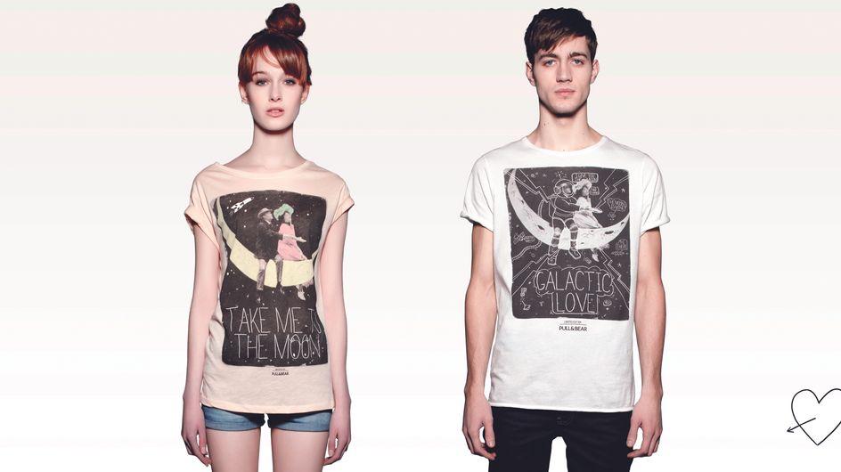 Saint-Valentin : Pull & Bear propose des t-shirts pour les couples !