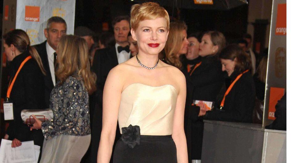 Michelle Williams : En robe H&M aux BAFTA
