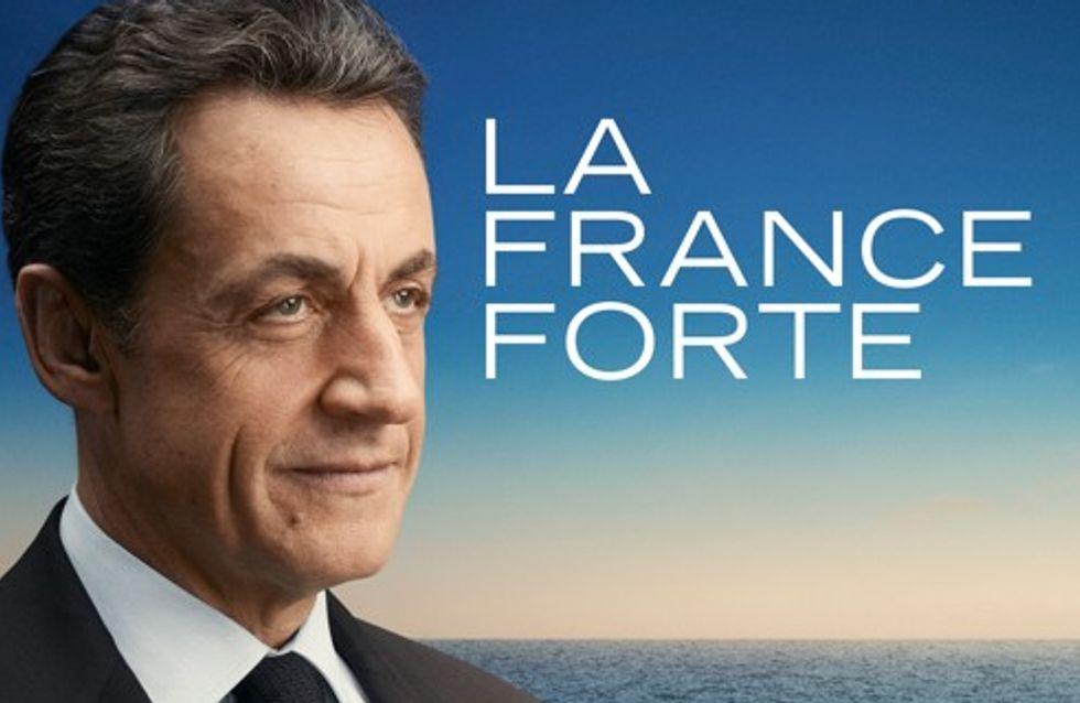 Nicolas Sarkozy : L'affiche de sa campagne enfin dévoilée !