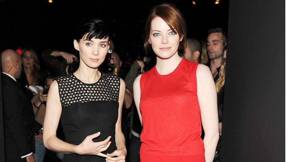 Rooney Mara : Superbe chez Calvin Klein avec Emma Stone
