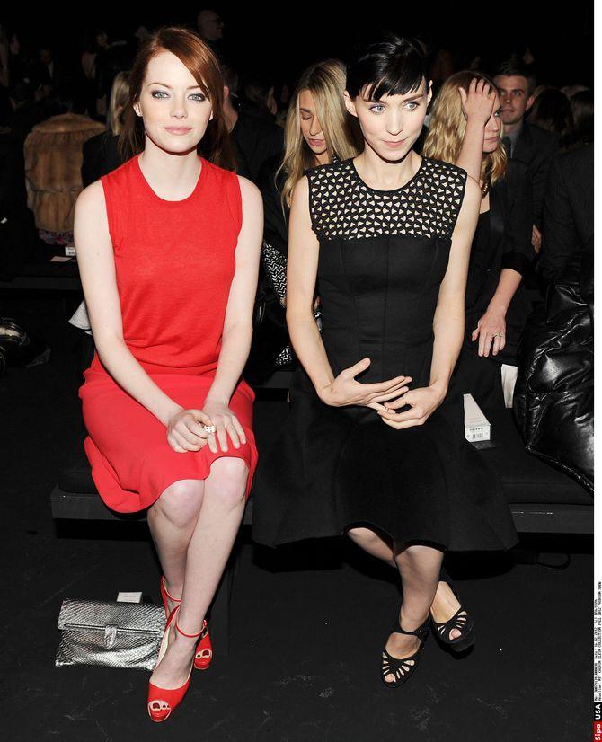Rooney Mara, Emma Stone, Calvin Klein
