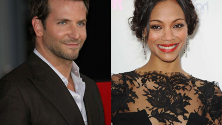 Bradley Cooper : En couple avec Zoe Saldana ?