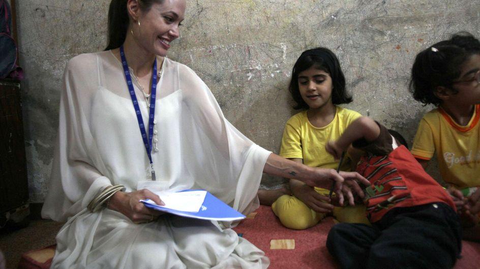 Angelina Jolie : Elle ne regrette pas sa visite à Bachar El-Assad