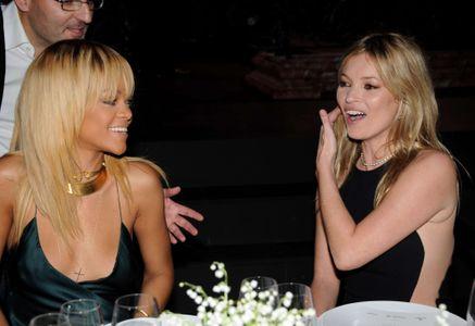 Kate  Moss et Rihanna chez Stella McCartney