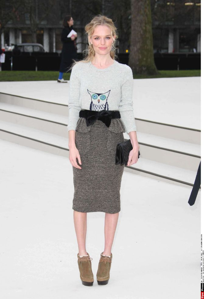 Kate Bosworth, look, Burberry