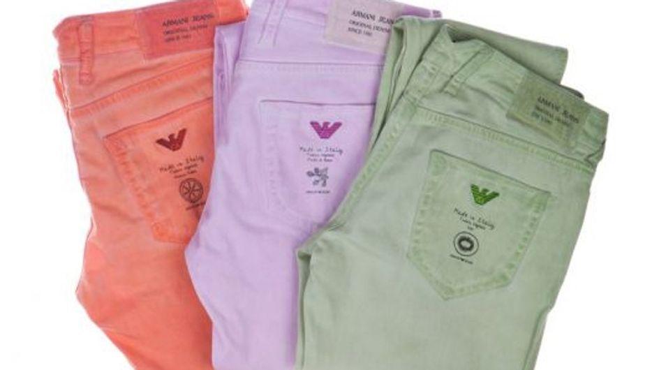 Armani Jeans : Une nouvelle collection éco-chic !