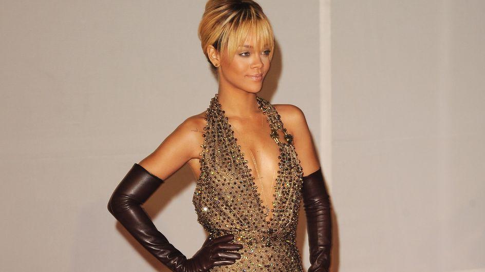 Rihanna : Son look aux Brit Awards