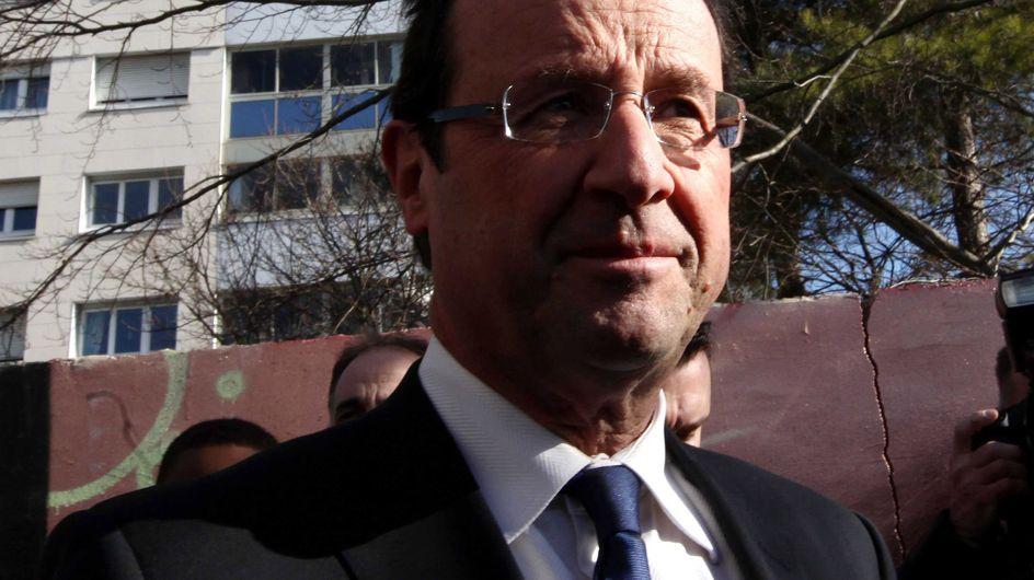 """François Hollande : Le projet de réforme de la PPE de Nicolas Sarkozy est """"un mensonge"""""""
