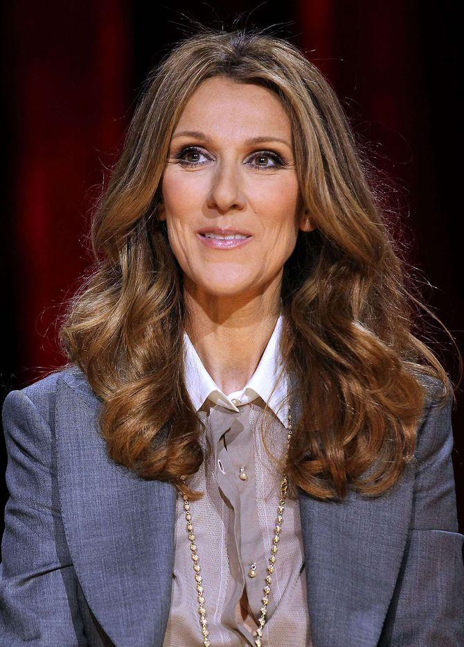celine dion dressing chaussures photos