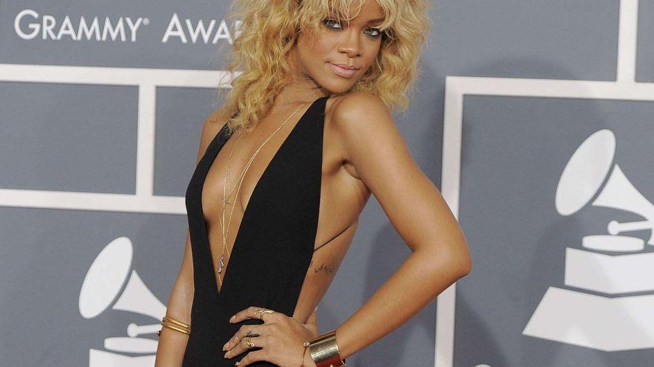 Rihanna : Elle s'offre une manucure en or