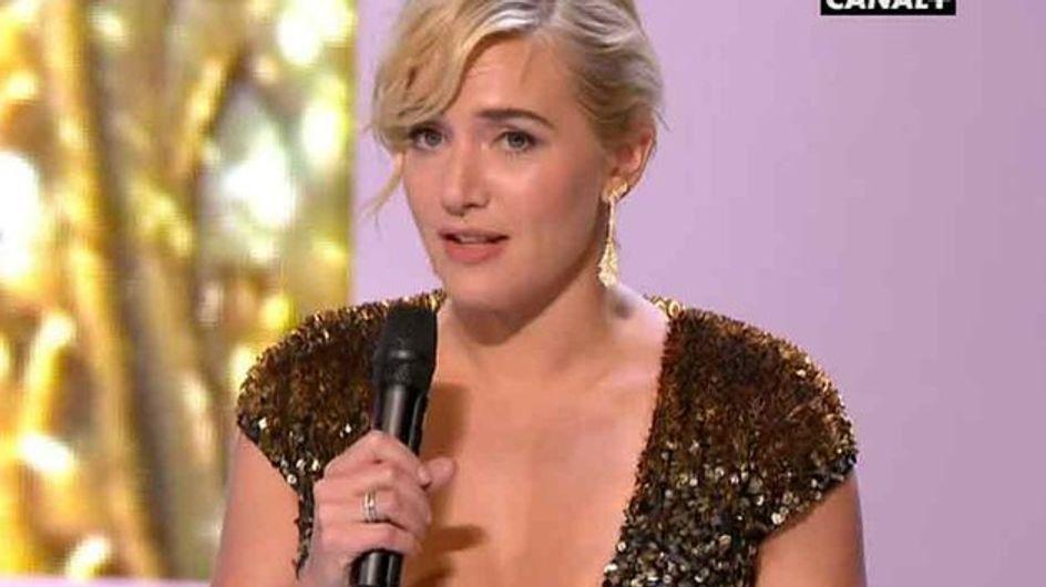 César 2012 : Un César d'honneur décerné à Kate Winslet