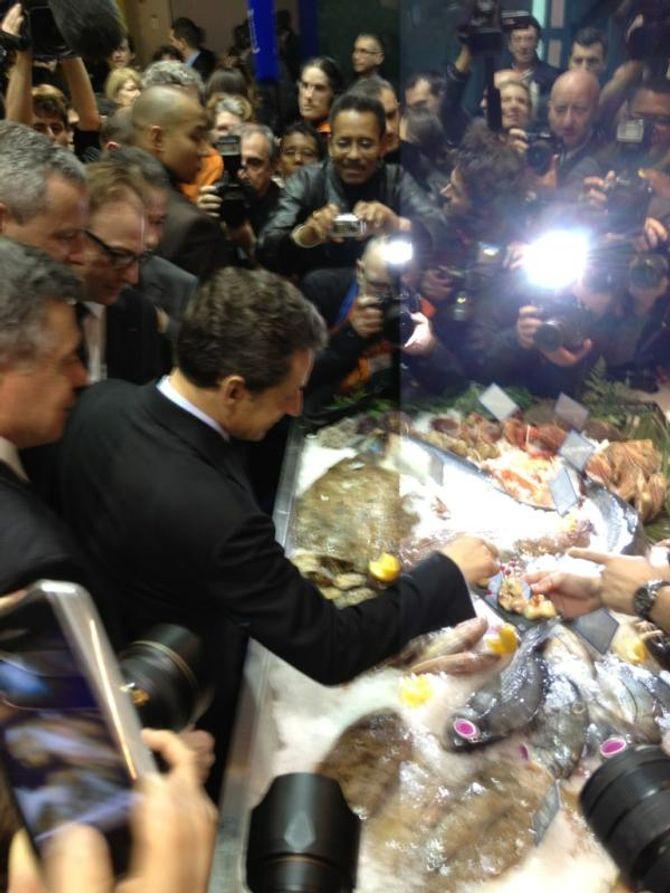 Nicolas Sarkozy Salon de l'agriculture