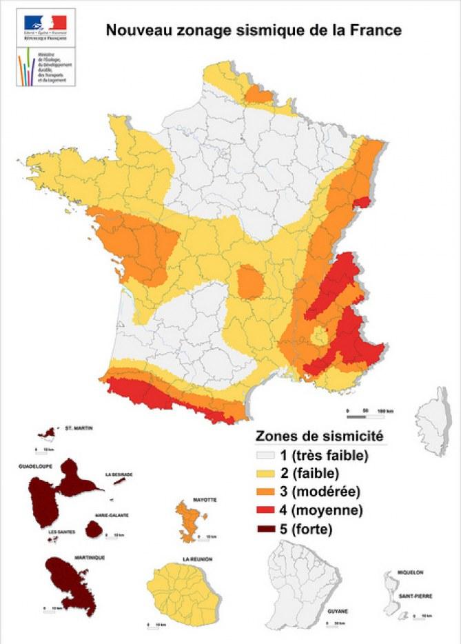 risque sismique France
