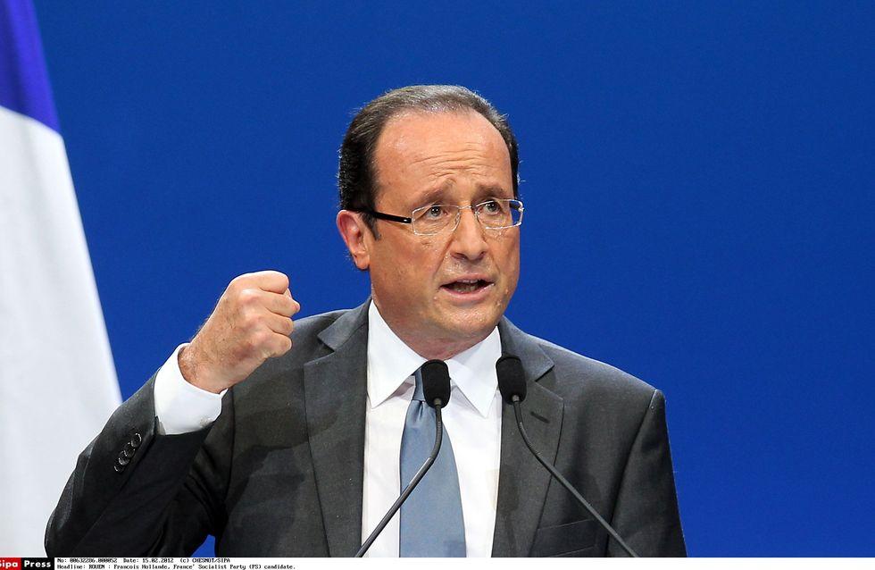 François Hollande : Il veut taxer à 75 % les plus riches