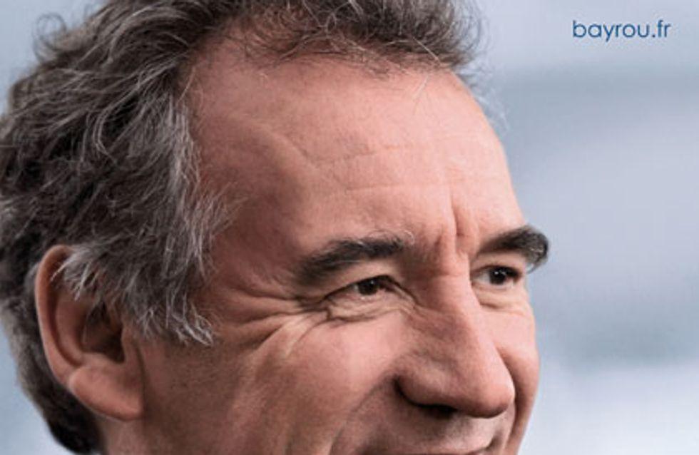 François Bayrou : Découvrez l'affiche de sa campagne !