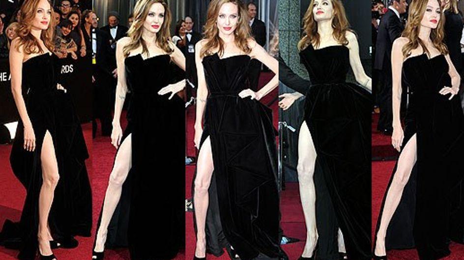 Angelina Jolie : Sa jambe a son compte Twitter !