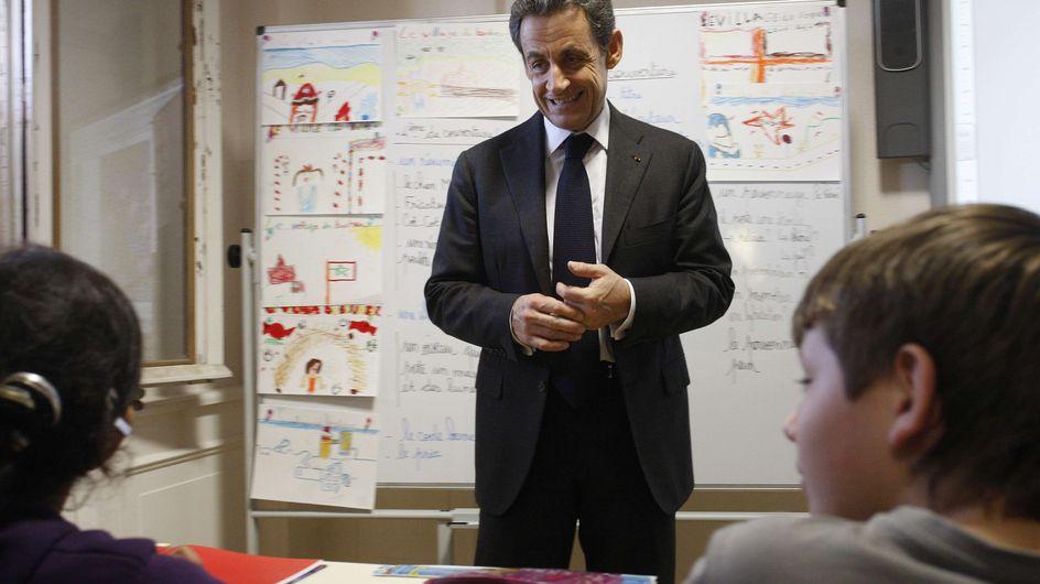 Nicolas Sarkozy : Il fait l'école buissonnière