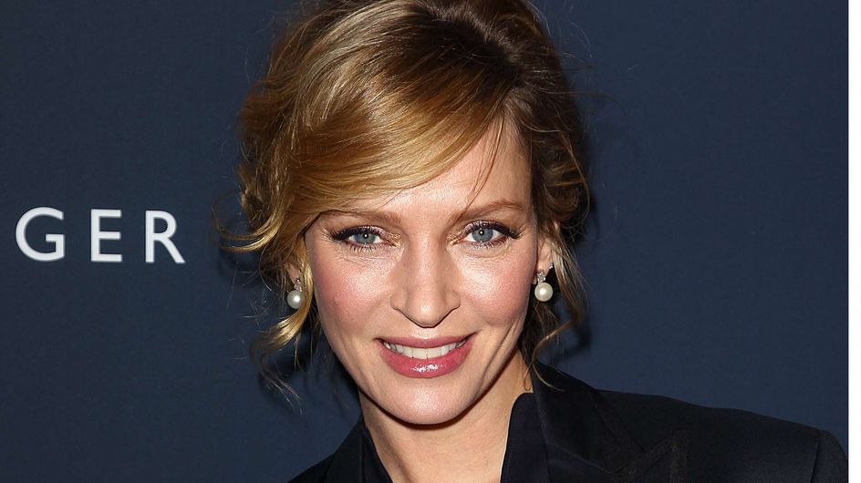 Uma Thurman : Elle nous montre son petit ventre rond (Photos)