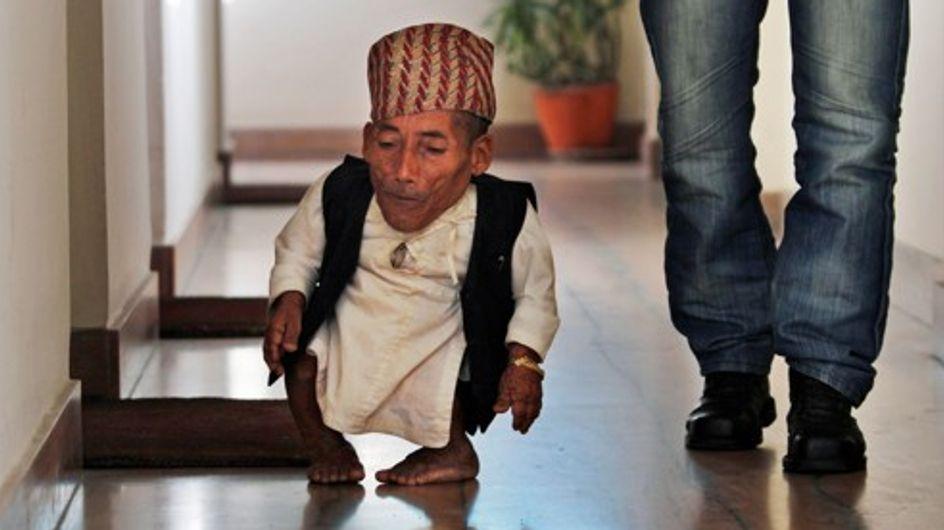 Insolite : Le nouveau plus petit homme du monde !