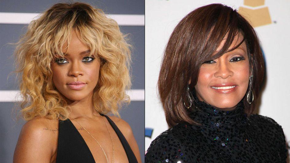 Rihanna : Dans un biopic sur Whitney Houston ?