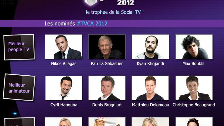 TV Check Awards 2012 : Les premiers trophées de la Social TV !