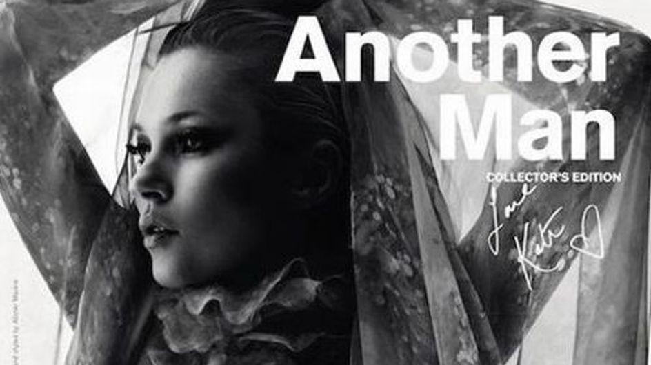 Kate Moss : Seins nus pour Another Man Magazine !