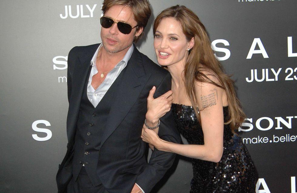Angelina Jolie : Bourrée à une fête !