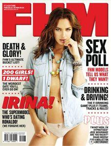 Irina Shayk sexy FHM