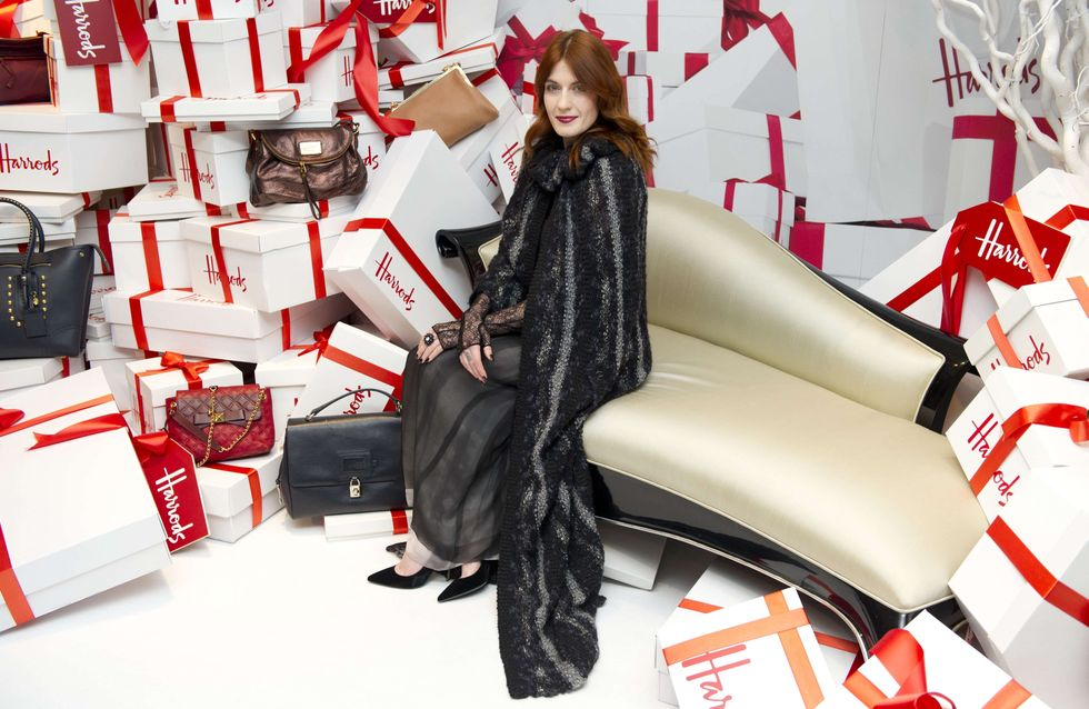Florence and the Machine : Florence Welch chez Harrods pour les soldes