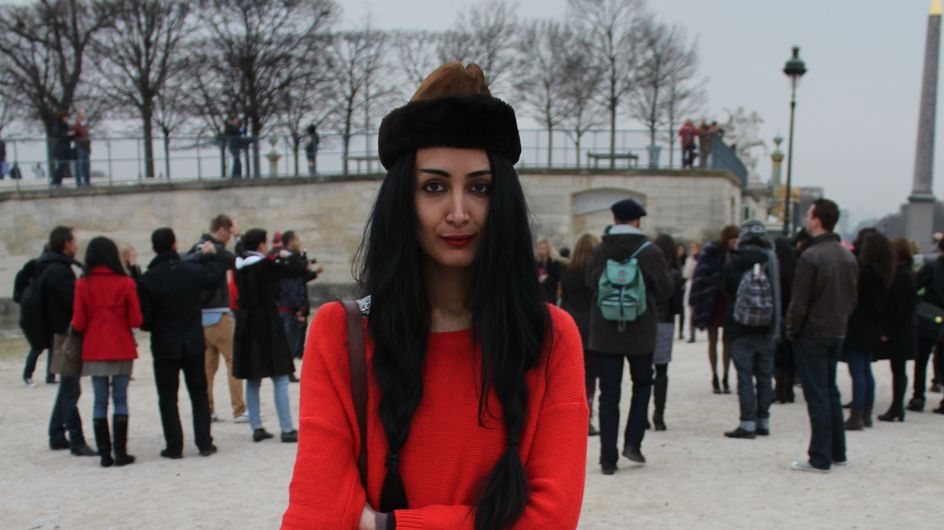 Fashion week : Street style au défilé Sonia Rykiel automne-hiver 2012-2013