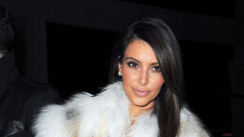 Kim Kardashian : Elle fait la belle à Paris pour la Fashion Week (Photos)