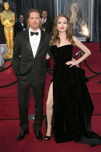 Angelina Jolie Brad Pitt Oscars 2012
