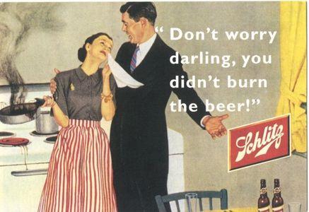 Pub sexiste bière