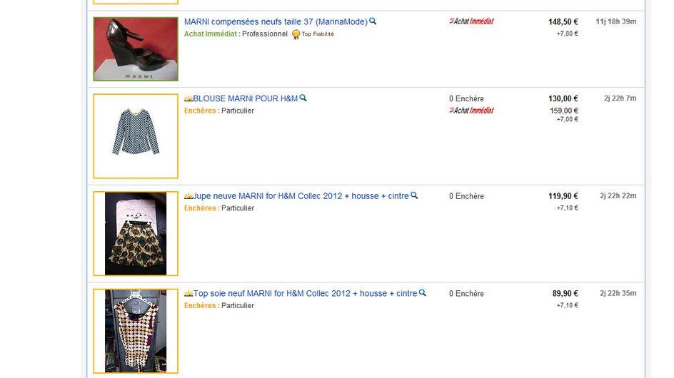 H&M : La collection Marni déjà sur Ebay et Leboncoin !