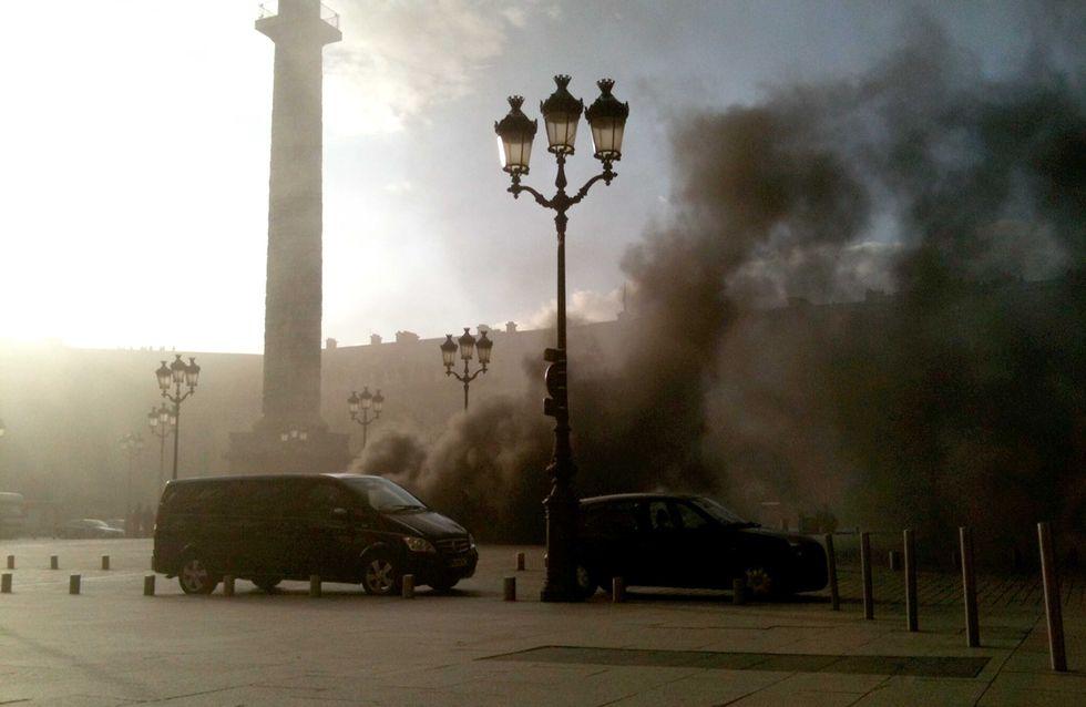 Incendie : 2 blessés dans l'incendie de la place Vendôme