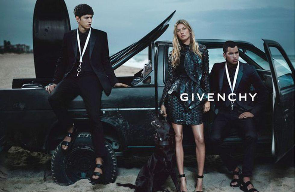 Gisele Bündchen : Egerie sexy pour Givenchy (Photos)