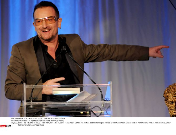 Bono U2 chanteur mieux payé