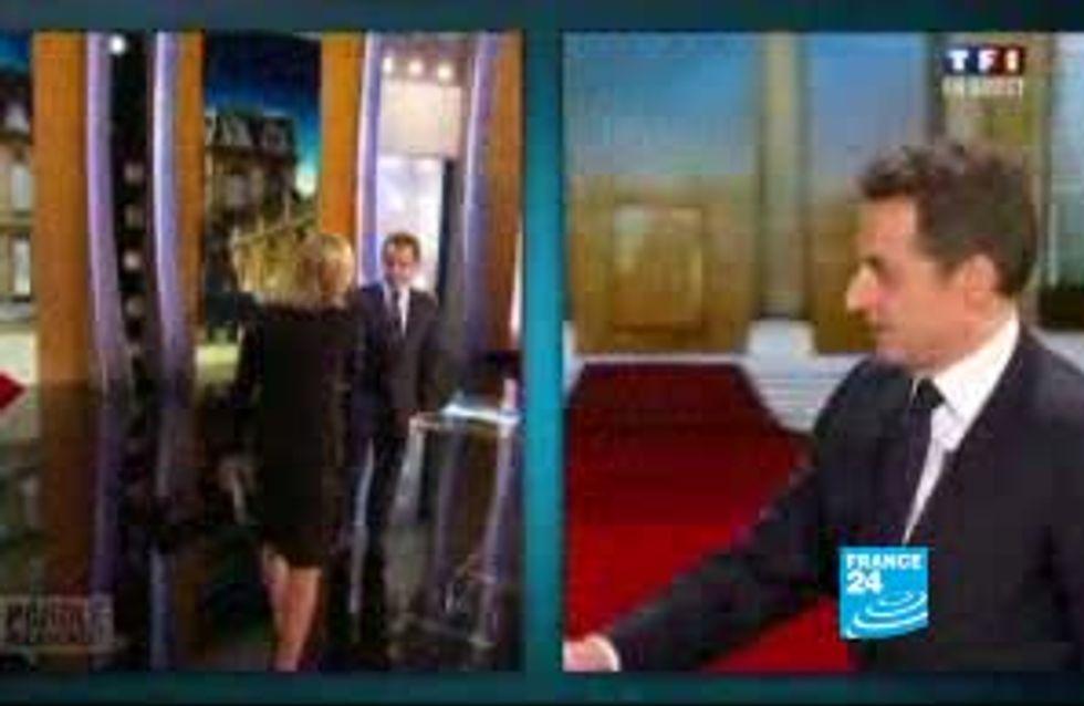 Présidentielle 2012 : Nicolas Sarkozy en tête au premier tour