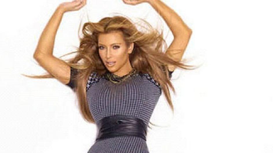 Kim Kardashian : Elle passe au blond ! (Photos)