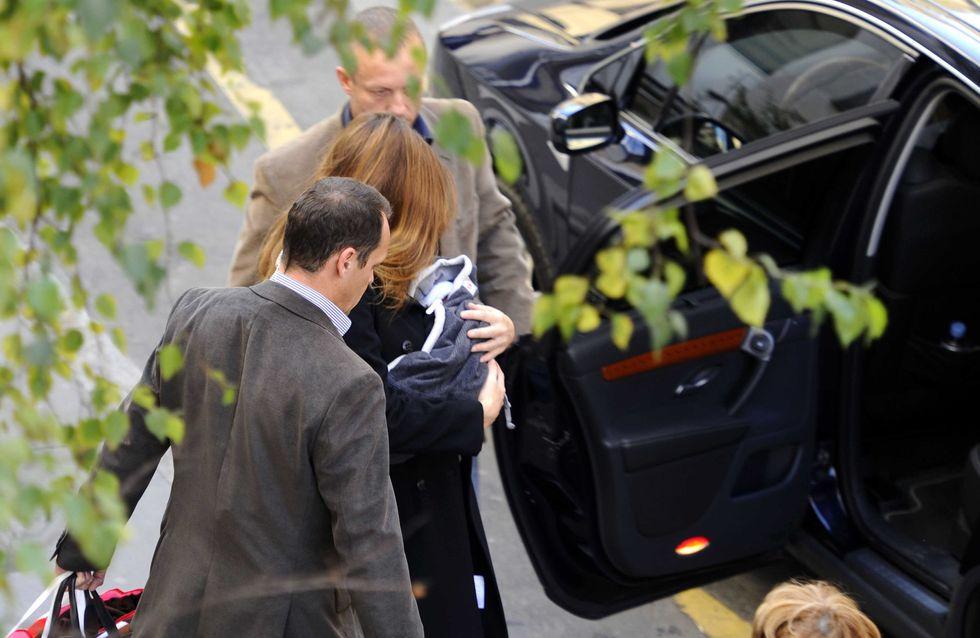 Carla Bruni-Sarkozy : La frimousse de Giulia dévoilée