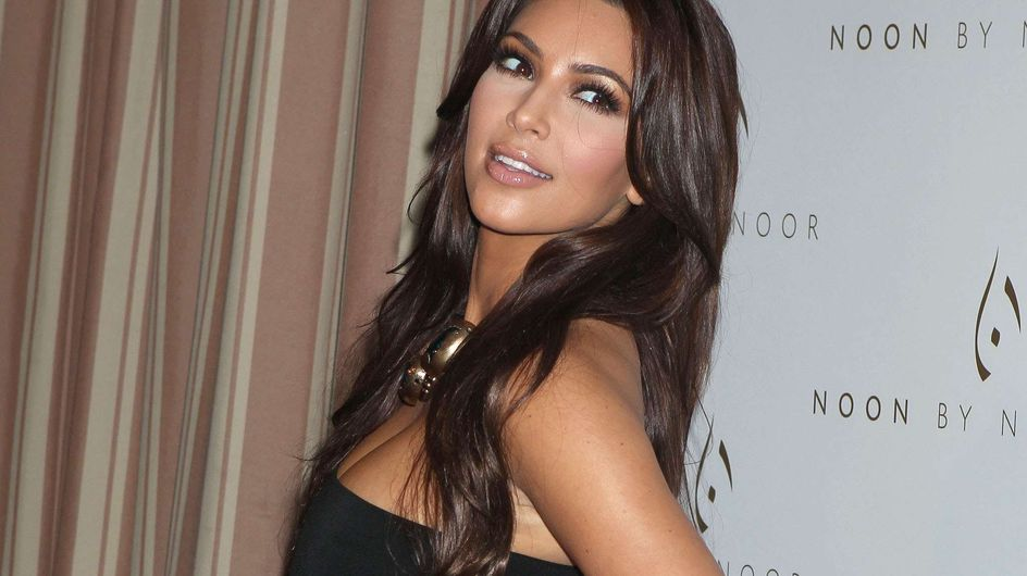 Kim Kardashian : Sexy pour sa ligne de lingerie (Photos)