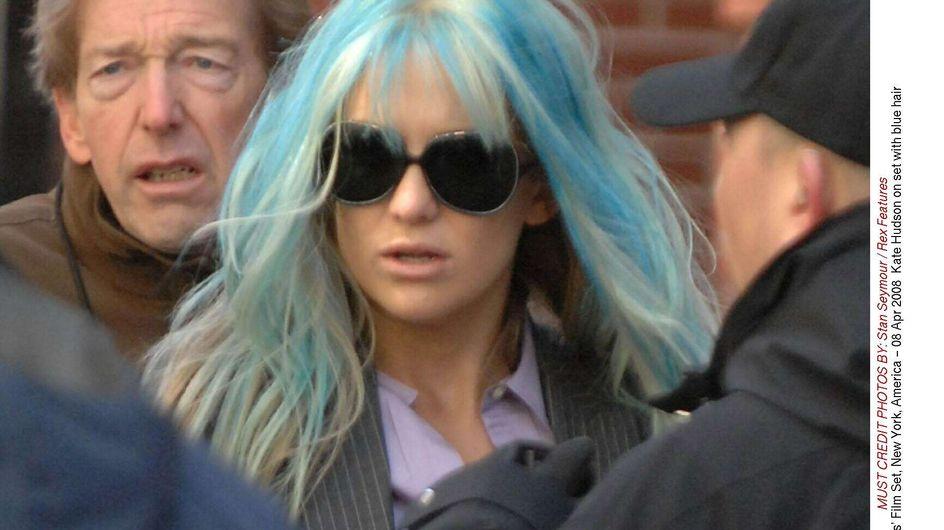 Angelina Jolie : Zahara a les cheveux bleus !