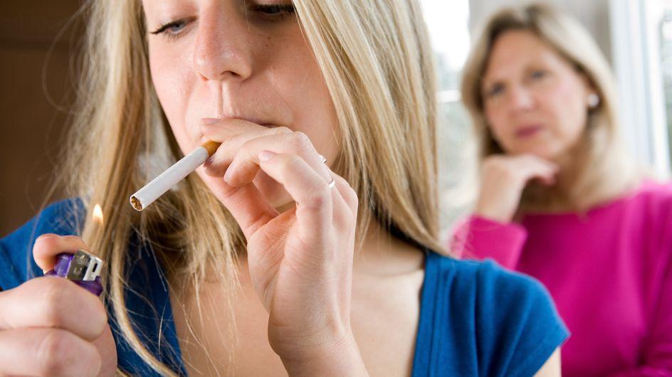 Tabac : La cigarette attire plus les filles que les garçons