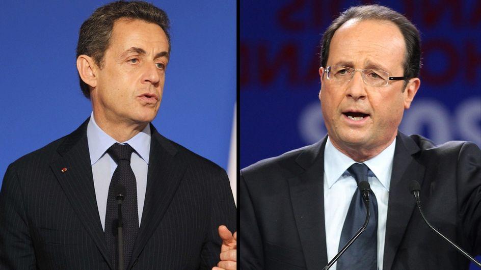 Présidentielle 2012 : Nicolas Sarkozy et François Hollande à égalité au premier tour (Vidéo)