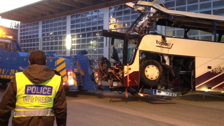 Accident de car en Suisse : Les corps identifiés (Vidéo)
