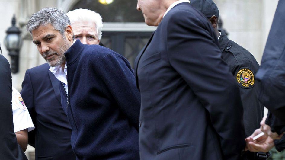 George Clooney : Arrêté à Washington (Vidéo)